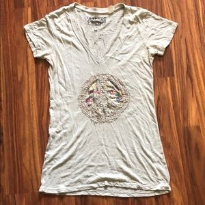 Organic/Sustainable Patchwork Tee
